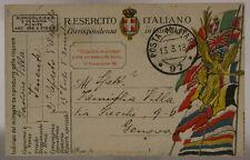 POSTA MILITARE 97 PRESTITO NAZIONALE 21° REPARTO ASSALTO ARDITI 13.3.1918#XP443H