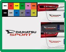 For DAIHATSU -  `DAIHATSU SPORT` - CAR DECAL STICKER   195mm x 38mm