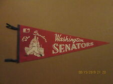 MLB The Senators Vintage Washington Senators Circa 1969 Logo Baseball Pennant