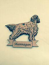 Personalized Irish Setter Wooden Christmas Ornament (FREE SHIPPING)