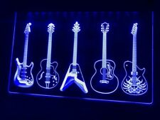 Guitar Weapons Band LED Neon Light Sign Bar Club Pub Advertise Decor Sport Gift