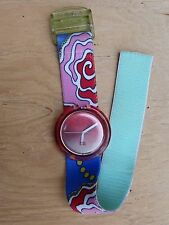 Montre Swatch Pop femme, 1994, pile neuve