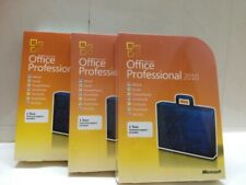 Microsoft Office Professional 2010 Retail FULL VERSION New 3/Computer