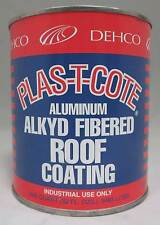 Heng's 43032 Aluminum Alkyd Fibered Roof Coating 32 Ounce Camper Trailer RV