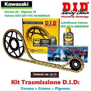 100875 - Kit Trasmissione DID Corona+Catena+Pign. per KAWASAKI Z 650 dal 2017->