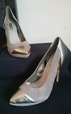 Worn once Topshop Women's  High Heeled PremiumSuede Shoes Size 8 RRP 62.00