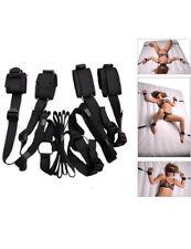 Under Bed Bondage BDSM Restraint set Cuffs Adult Wrist Ankle Straps
