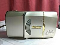 vintage NIKON lite Touch Zoom 120ED AF point and shoot 35mm film camera