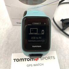 New TomTom Spark 3 Activity Tracker Watch Cardio GPS Blue Black Fitness Sport