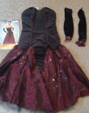 NWT Rubies Grand Heritage Collection Women's Vampire Costume Halloween M 10-14