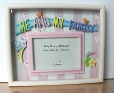 "VERY SPECIAL ""ME AND MY FAMILY"" FRAME FROM THE BABY COUTURE COLLECTION 5"" x 3.5"""