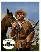 Old Surehand ORIGINAL Aushangfoto Pierre Brice / Stewart Granger / Karl May TOP