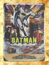 Batman Dc Marvel comic tin metal sign home decor furniture store