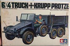 Tamiya 6x4 Truck Krupp Protze 1/35 NIB Model Kit 'Sullys Hobbies'