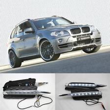 LED DRL Driving Daytime Running Day Fog Lamp Light For BMW X5 E70 (2007-2010)