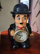 Charlie Chaplin Clock. Rhythm Quartz. Jaoan. Bubbles Inc
