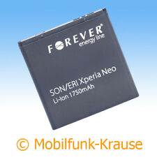 Akku f. Sony Ericsson Xperia Ray 1750mAh Li-Ionen (BA700)