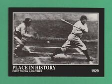 1992 Megacards Place In History Babe Ruth New York Yankees #41