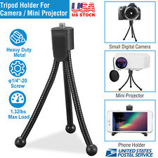 Digital Lightweight Mini Tripod Clip Stand Holder Mount For Camera Video Photo