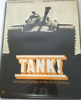An Historical Simulation Board Game TANK! Armored Combat in the 20th Century