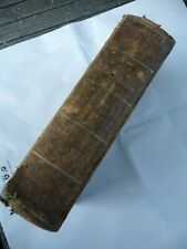 La SAINTE BIBLE ou l'ancien et le nouveau testament version d'ostervald 1860