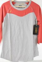 XS Runner's Top ASICS Women's Tee Discounted Blusa Ejercisio Gris HRT KW2775