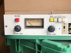 Inovonics 375 electronics single-channel 2U unit for Ampex Tape Recorder