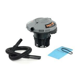 Bucket Head BH0100 5 Gal. 1.75-Peak HP Wet/Dry Shop Vacuum Filter Bag & Hose