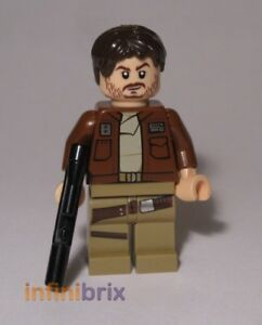 Lego Cassian Andor Minifigure from set 75171 Star Wars NEW sw813
