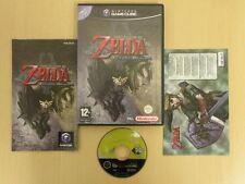 Nintendo Gamecube Game * LEGEND OF ZELDA TWILIGHT PRINCESS * Complete 15415
