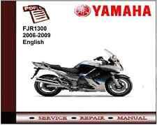 Yamaha FJR1300 2006 - 2009 workshop Service repair Manual