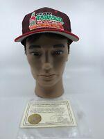 SIGNED Nascar Todd Bodine Team Tabasco Racing #35 Ball Hat Cap AUTOGRAPHED COA