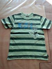 T Shirt Shirt Pulli von Pampolina PL.05 in Größe 128 in grün geringelt Jungle