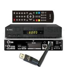 ► Digitale Sat Receiver BWare HK 490 ca 1080p Full HD LAN USB Incl. WLAN Beware