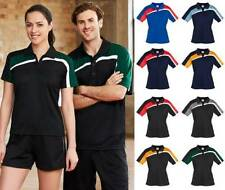 Short Sleeve Striped Machine Washable Polo Shirts for Women