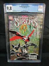 Gotham City Sirens #11 (2010) Harley Quinn Catwoman Cover CGC 9.8 D274