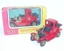 Matchbox 1:50 Models of Yesteryear 1912 PACKARD LANDAULET 2 Versions Y-11 MIB`65