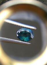 .35Ct  VVS Clean Oval Shape Natural Greenish Blue Sapphire Untreated 6.10x4.45mm