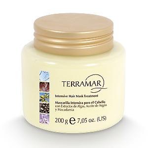 Mascarilla Intensiva para el Cabello Algas, Argán y Macadamia 200gr by Terramar