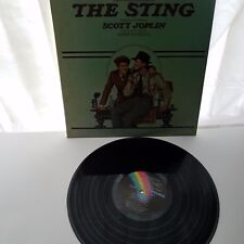 The Sting Original Motion Picture Soundtrack Album Marvin Hamlisch MCA-2040 1974