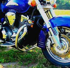 STAINLESS STEEL CLASSIC CRASH BAR HIGHWAY ENGINE GUARD HONDA VTX 1800 RETRO