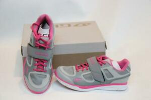 New Giro Whynd Women's Bike Shoes 38 6.5 Silver Pink 2-Bolt SPD Cycling MTB Spin
