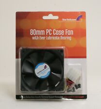 StarTech FANBOXSL 80mm PC Case Fan with Ever Lubricate Bearing; UNT