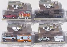 HITCH & TOW SERIES 7 SET OF 4 CARGO, ENCLOSED CONCESSION & FLAT BED TRAILER GULF