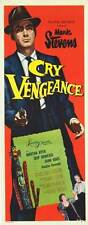 CRY VENGEANCE orig 1955 FILM NOIR movie poster MARK STEVENS/KETCHIKAN, ALASKA