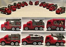NEW Firefighter Trucks Set Friction Toys Firetrucks Play Set Action cars