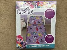 My Little Pony Junior / Toddler Duvet Set - Quilt Cover, Pillowcase - NEW