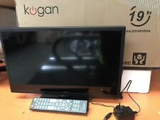 Kogan 19'' TV DVD Player Remote Television Bedroom Monitor Screen Stand