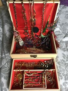 Job Lot of Mixed  Vintage/ Modern Costume Jewellery Pieces  Box Not included