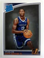 2018-19 Panini Donruss Rated Rookie Jaren Jackson Jr RC #188, Memphis Grizzlies